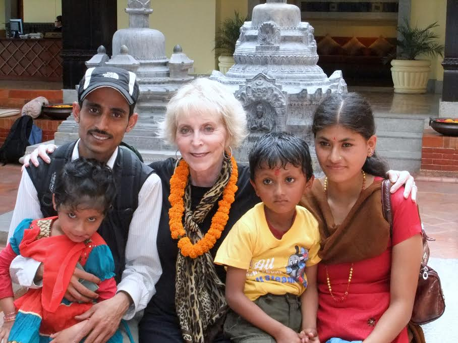 Judy and Hari's Family